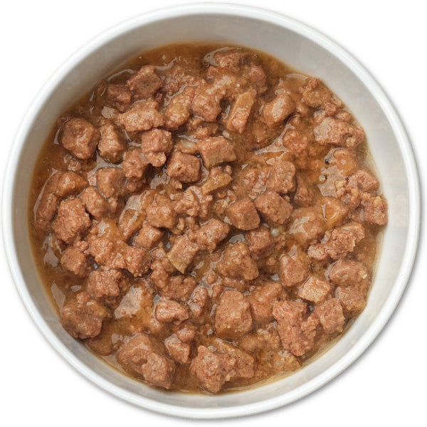 Merrick Purrfect Bistro Grain-Free Beef Wellington Morsels in Gravy Canned Cat Food