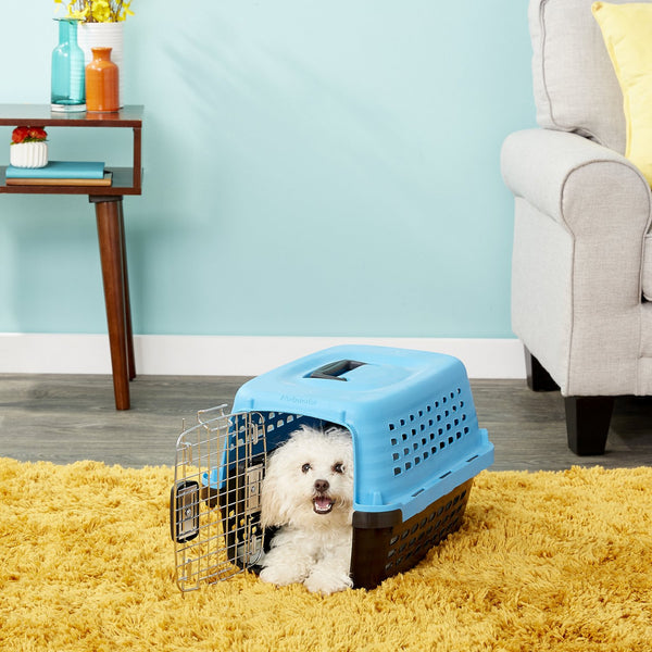 Petmate Compass Fashion Kennel, Blue
