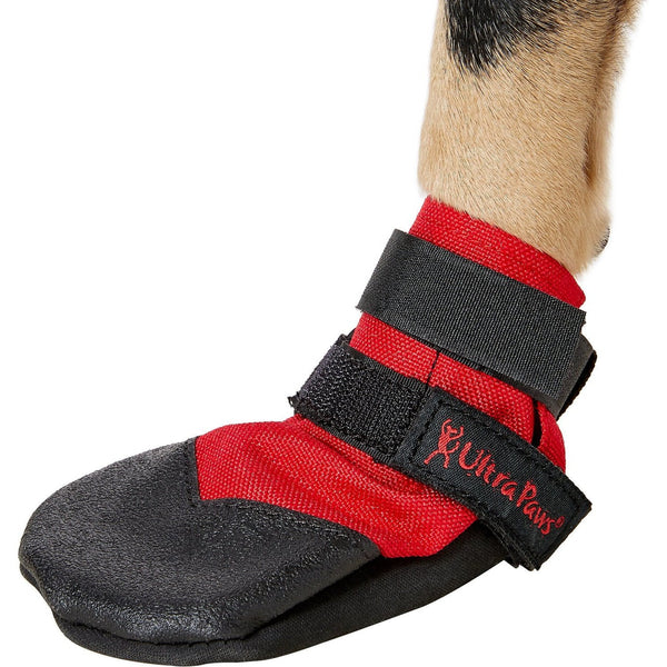 Ultra Paws Rugged Red Dog Boots