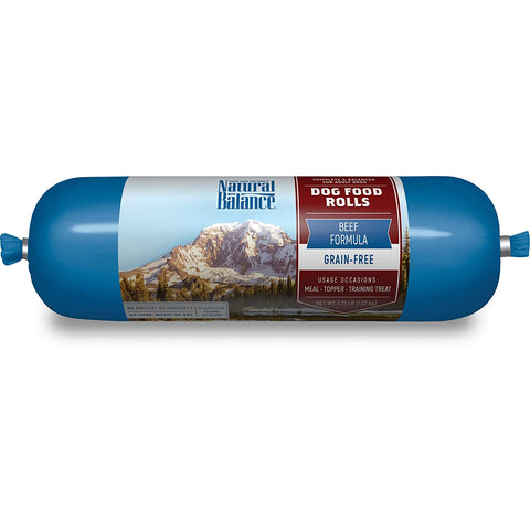 Natural Balance Beef Formula Grain Free Dog Food Rolls