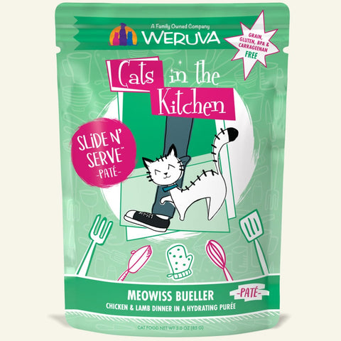 "Weruva ""Meowiss Bueller"" Chicken and Lamb Slide 'N Serve Pouch"