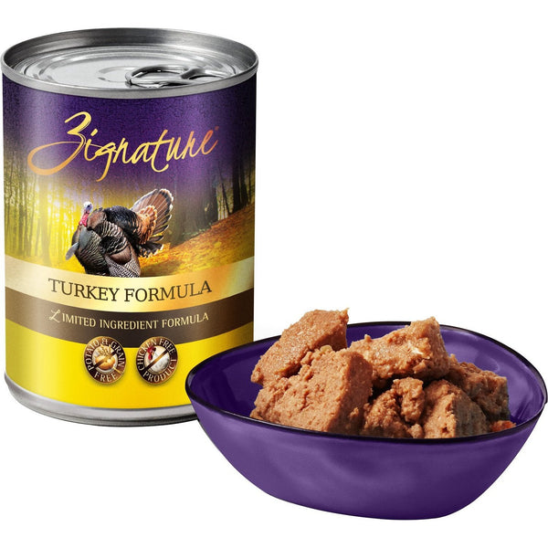 Zignature Limited Ingredient Diet Grain Free Turkey Recipe Canned Dog Food