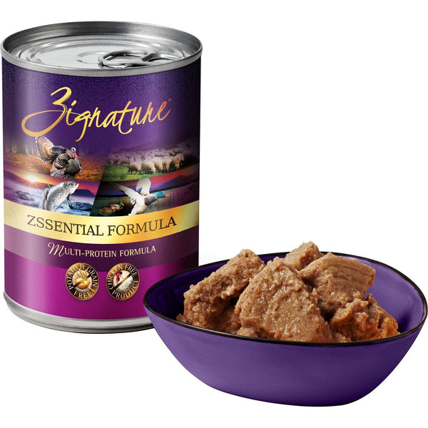 Zignature Limited Ingredient Zssential Formula Canned Dog Food