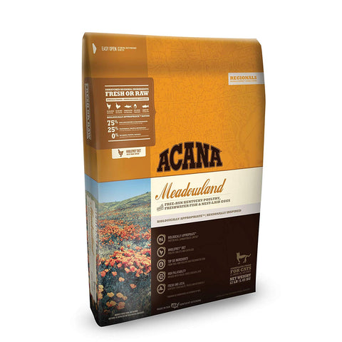 ACANA Regionals Dry Cat Food, Meadowland, Biologically Appropriate & Grain Free