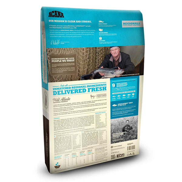 ACANA Regionals Dry Cat Food, Wild Atlantic, Biologically Appropriate & Grain Free