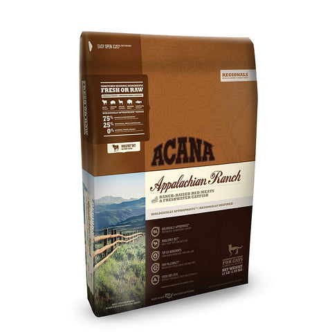 ACANA Regionals Dry Cat Food, Appalachian Ranch, Biologically Appropriate & Grain Free