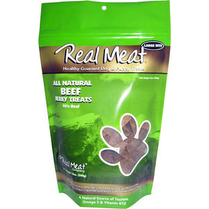The Real Meat Company 95% Beef Jerky Bitz Dog Treats