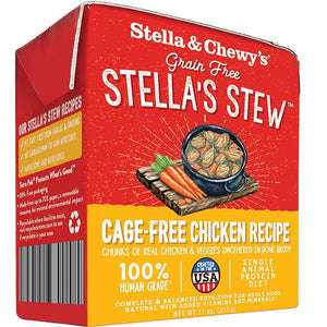 Stella & Chewy's Stella's Stew Cage-Free Chicken Wet Dog Food