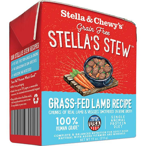 Stella & Chewy's Stella's Stew Grass-Fed Lamb Wet Dog Food
