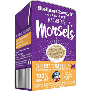 Stella & Chewy's Marvelous Morsels Turkey Wet Cat Food