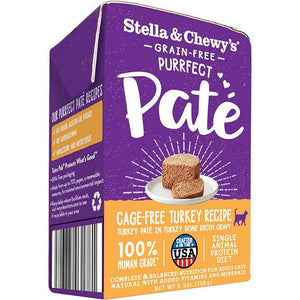 Stella & Chewy's Purrfect Pate Turkey Wet Cat Food