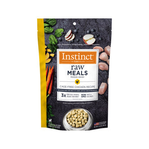 Instinct Raw Meals Grain-Free Cage-Free Chicken Recipe Freeze-Dried Dog Food