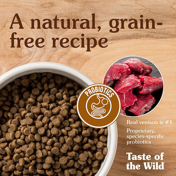 Taste of the Wild Appalachian Valley Small Breed Grain-Free Dry Dog Food