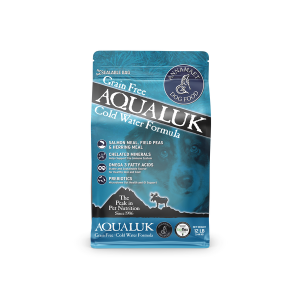 Annamaet Grain Free Aqualuk Cold Water Recipe Dry Dog Food