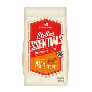Stella & Chewy's Essentials Grain Free Grass-Fed Beef & Lentils Dog Food