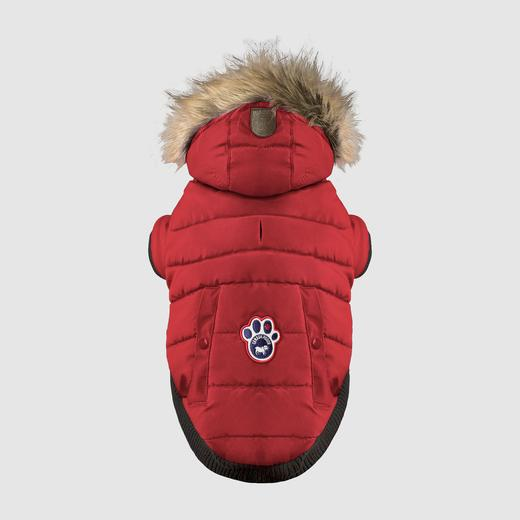 Canada Pooch North Pole Parka in Red