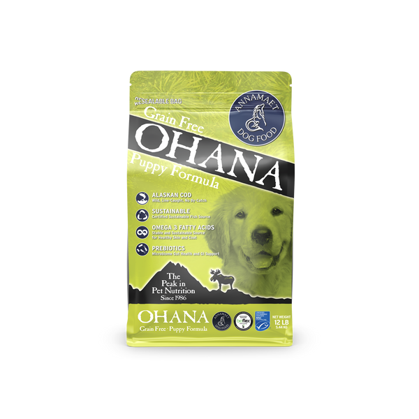 Annamaet Ohana Grain Free Puppy Recipe Dry Dog Food