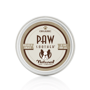 Natural Dog Company Organic Paw Soother Balm Tin