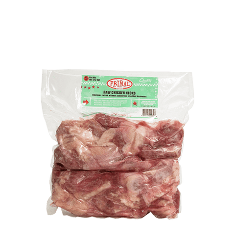 Primal Raw Meaty Bones Chicken Necks (6 Pak)