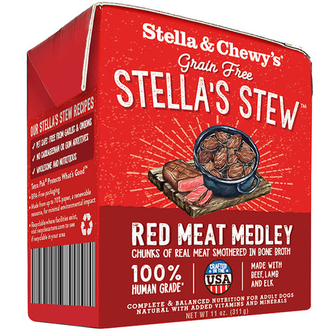 Stella & Chewy's Stella's Stew Red Meat Medley Wet Dog Food