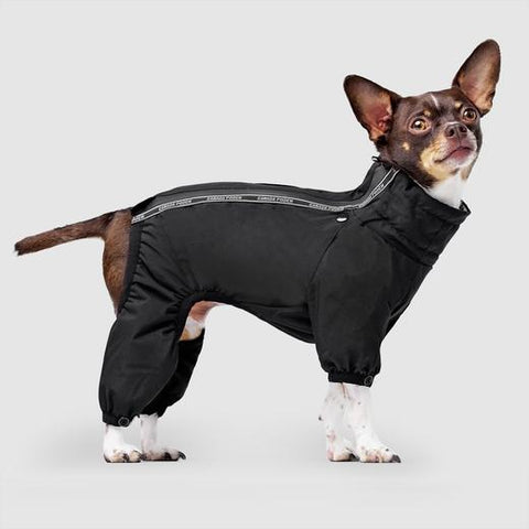 Canada Pooch Snow Suit in Black