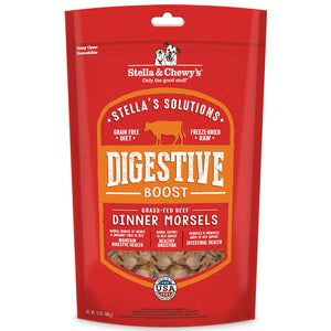 Stella & Chewy's Stella's Solutions Digestive Boost Grass Fed Beef Freeze Dried Raw Dog Food