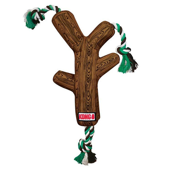 KONG FetchStix W/Rope Dog Toy Small