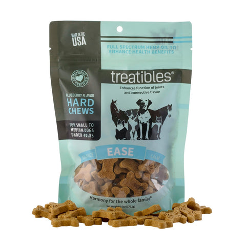 Treatibles Ease (Blueberry Flavor) Hard Chews – Canine