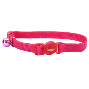 Coastal Pet Products Safe Cat® Adjustable Snag-Proof Breakaway Collar in Pink Flamingo
