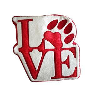 PrideBites Philly Love Statue Plush Dog Toy