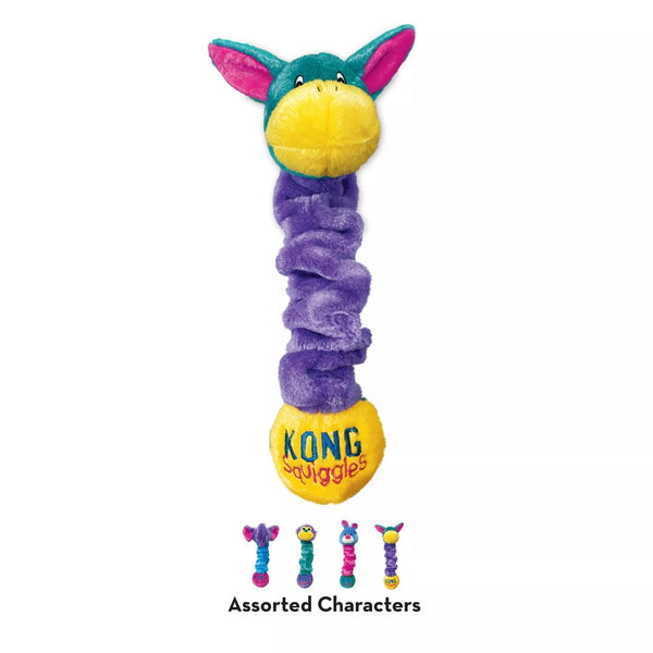 KONG Squiggles Dog Toy - Assorted Styles