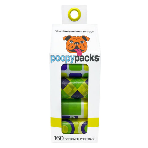 Metro Paws Poopy Pack® Eco Friendly Poop Bags in Yellow