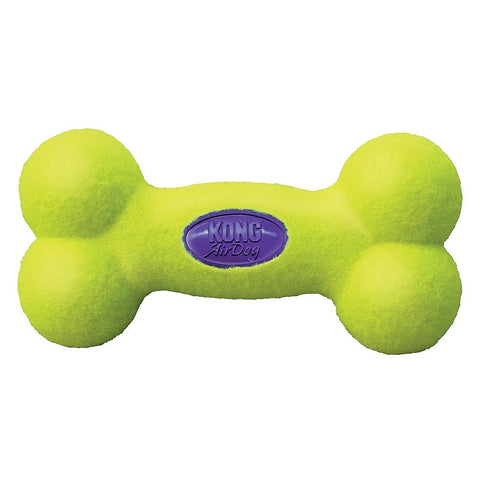 KONG AirDog Squeakair Bone Dog Toy