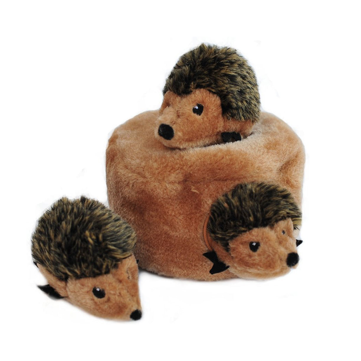 ZippyPaws Zippy Burrow Hedgehog Den Puzzle Dog Toy