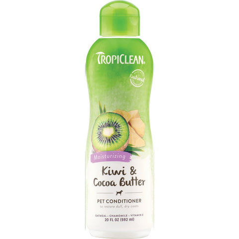 TropiClean Conditioner Kiwi & Cocoa Butter Formula for Dog & Cat