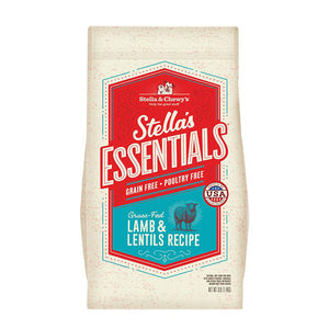Stella & Chewy's Essentials Grain Free Grass-Fed Lamb & Lentils Dog Food