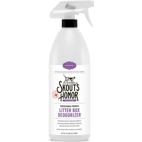 Skout's Honor Professional Strength Litter Box Deodorizer