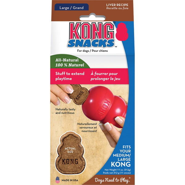 KONG Stuff'N Liver Snacks Crunchy Dog Treats