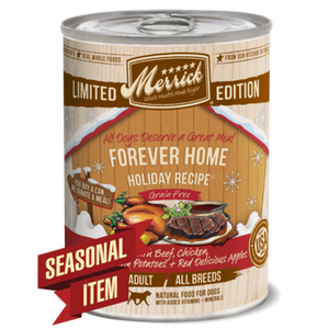 Merrick Grain-Free Forever Home Recipe Canned Dog Food