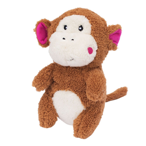 ZippyPaws Cheeky Chumz Monkey Plush Dog Toy