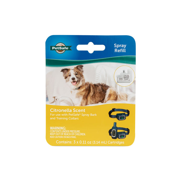 PetSafe® Spray Collar Refill - Citronella, 3-Pack