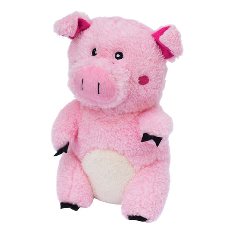 ZippyPaws Cheeky Chumz Pig Plush Dog Toy