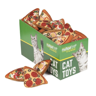 Multipet Pizza Slice Catnip Cat Toy