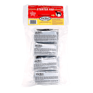 Primal Raw Starter Pak for Dogs - Assorted Flavors