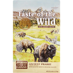 Taste of the Wild Ancient Prairie Roasted Bison, Roasted Venison & Ancient Grain Recipe Dry Dog Food