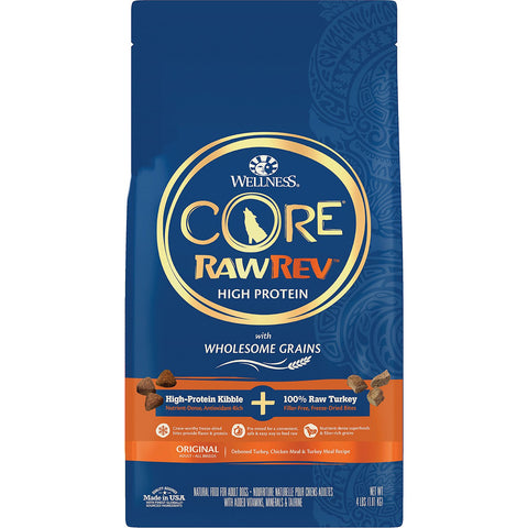 Wellness CORE RawRev Wholesome Grains Original Recipe High Protein Dry Dog Food