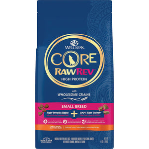 Wellness CORE RawRev Wholesome Grains Small Breed Original Recipe High Protein Dry Dog Food
