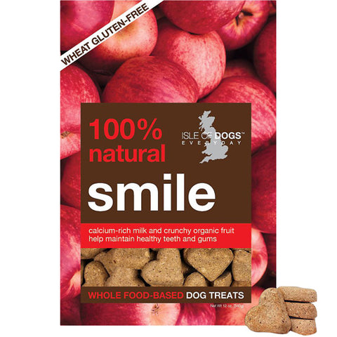 Isle of Dogs Baked 100% Natural Smile Dental Dog Treats