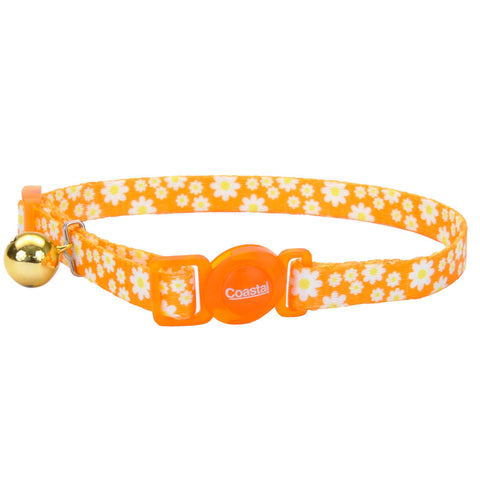 Coastal Pet Products Safe Cat® Fashion Adjustable Breakaway Collar in Daisy Yellow
