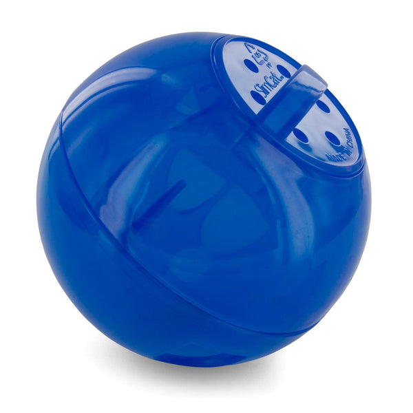 PetSafe® Slimcat™ Feeder Ball Cat Toy, Blue
